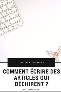 vos posts et c'est exactement ce qu'attend votre Des Articles, Free Blog Sites, Blog Online, Mode Blog, Writing About Yourself, Le Web, Wordpress, Blog Tips, Content Marketing