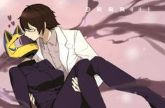 celty x shinra <3