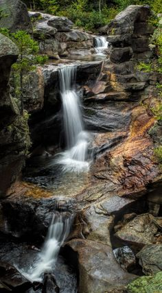 Photographing Grafton Notch State Park, Maine - Screw Auger Falls