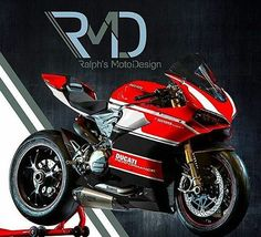 Killer Ducati Panigale 1299 based on WSBK