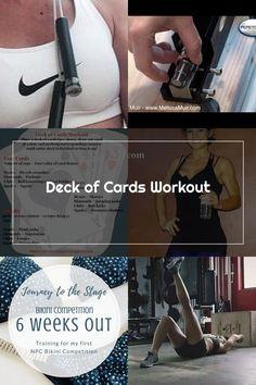 Deck of Cards Workout Melissa Bender, Deck Of Cards, Kicks, Workout, Work Out