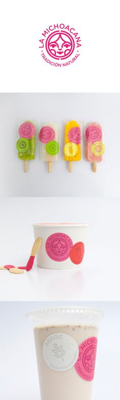 "New packaging system for La Michoacana, traditional Mexican ""paleteria"" http://lovelypackage.com/la-michoacana/"