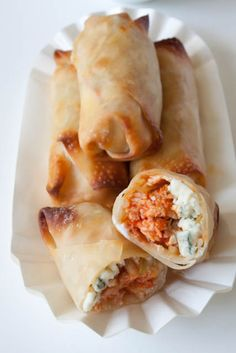 buffalo chicken rolls...