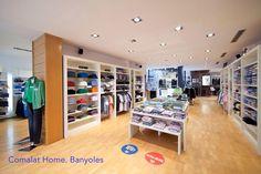 Entrada tienda Comalat Home . Banyoles ( Spain )