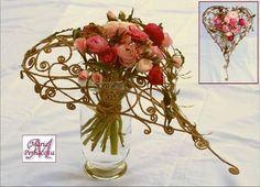 Design by Maria Perhacova Floral arrangements Design by Maria Perhacova Bunch Of Flowers, Diy Flowers, Floral Bouquets, Wedding Bouquets, Italian Flowers, Blush Pink Wedding Flowers, Hand Tied Bouquet, Ikebana, Heart Decorations