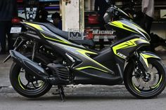 Black Bird  Aerox 155cc Aerox 155 Yamaha, Yamaha Nmax, Yamaha Motorcycles, Ducati, Cars And Motorcycles, My Dream Car, Dream Cars, Jun Jun, Xmax