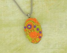 premo! Sculpey Faux Embroidery Pendant | Polyform Products Company