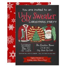 Holiday tea party invitation pinterest ugly sweater christmas party invitations christmaspartyinvitations christmasparty corporatepartyinvitations corporatechristmas merrychristmas stopboris Images