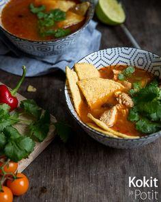 Meksikolainen kanakeitto – valmista puolessa tunnissa #kanakeitto #broileri #keitto #meksikolainen #resepti