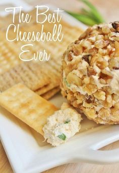 The Best Cheese Ball Ever