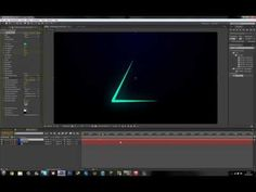 After Effects Tutorial - Ribbon Banners - YouTube