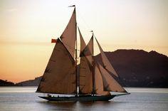 Sail away. via The Black Workshop