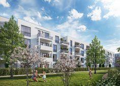 Das Projekt VIERZIG549 bietet mit einem vielfältigen Angebot an Eigentumswohnungen, exzellenter Infrastruktur und gemeinschaftlichen Grünzonen einen Mix, der den Anforderungen des modernen urbanen Lebens entspricht. EIn Neubauprojekt der Corpus Sireo Makler GmbH.