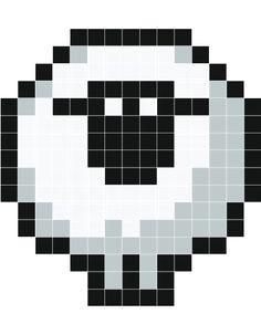 sheep by diabolijeje. Sticker pixel monochrome mat et extra-fin. Se positionne et se décolle facilement, sans laisser de traces. Livré avec quelques Kaz en plus pour chaque couleur et un mode d'emploi.