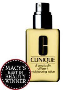 Macy's Beauty Award Winner 2012 - Best Moisturizer! #clinique #skincare #Beauty #macys BUY NOW!