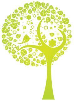 Designs Article: Go Green! – 50+ Beautiful Nature Vector Illustrations