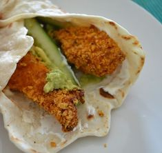 Ellouisa: Crispy chicken wraps