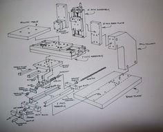 How to make a mini milling machine- manual or CNC! - 2 - Português