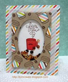"""My sample for the Lawn Fawn Coffee Blog Hop, June 26, 2015 using """"Love you a Latte"""" stamp set."""