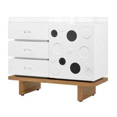 $1500.00  Westin Modern Changer in White  #PoshTotsNursery  room  2