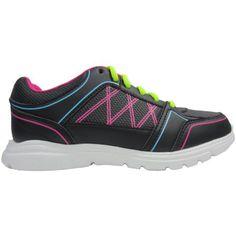 Womens Black Multi Running Shoe - Walmart.com