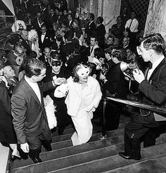 Scenes from the iconic party of the 1960s, held at the Plaza hotel.