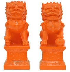 Foo Dog bookends from One Kings Lane