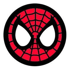 spiderman face logo spiderman mask clipart 23428wall jpg birthdays rh pinterest com Spider-Man Face Paint spiderman face clipart