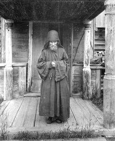 Керженский единоверческий монастырь. Монах-схимник. 1897 г. Семеновский уезд, Нижегородская губерния