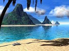 image of tropical island - Google Search