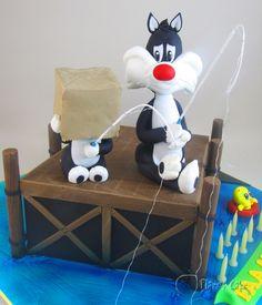 Sylvester & Son cake by www.planetcake.com.au