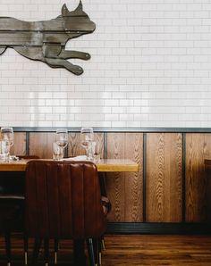 CRÈME Cafe Interior Design, Interior Walls, Interior And Exterior, Cafe Restaurant, Restaurant Design, Feature Wall Design, Office Images, Restaurants, Steel Panels