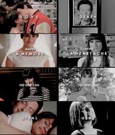 Glee Rachel and Finn