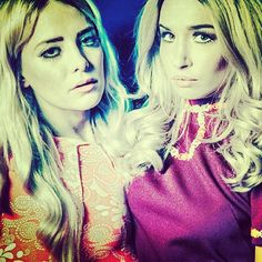 #rebecca_and_fiona | sep-2013 | Fiona FitzPatrick and Rebecca Scheja #edm #female_djs #stylish
