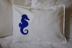 Blue Sea Horse Shabby Chic Beach House 12x16 by SaSeaBoutique, $15.00