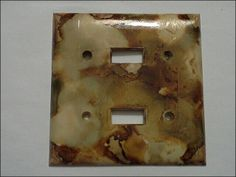 Light plate / outlet covers made to order
