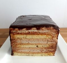How to Make a Coffee Crisp Cake