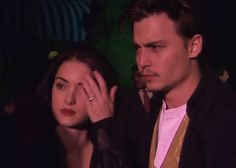 "veronicas-sawyers: """"Winona Ryder and Johnny Depp in Edward Scissorhands Premiere "" """