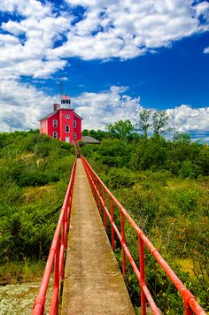 Bridge to the Lighthouse by Brett Perucco, via Flickr