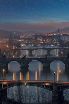 "0rient-express: "" Prague | by Lena Serditova. """