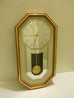 Seth Thomas Pendulum wall clock Model 2824 - Rare
