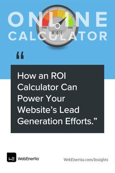 When it comes to faster and more effective lead generation, ROI calculators may be the missing tool in your B2B marketing system. Check out these best practices to increase sales. Digital Marketing | Web Design | Web Development | Business Inspo | Increase Sales, Design Web, Lead Generation, Calculator, Web Development, Effort, Insight, Digital Marketing, Things To Come