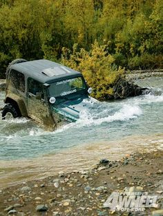 Just a small river crossing they said... We can just go through it they said