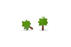 Boucles d'oreilles Bonzaï, un petit arbre robuste, aventurier et téméraire. Kids Earrings, Heart Earrings, Etsy Earrings, Earring Tree, Mini Heart, Circle Necklace, Cute Pins, Argent Sterling, Gifts For Girls