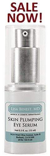 Dr Lisa Benest Skin Care Skin Plumping Eye Serum 05 Fluid Ounces 15 ml *** Continue to the product at the image link.