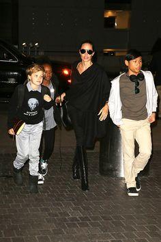 Shiloh Jolie-Pitt sigue los pasos de Angelina Jolie