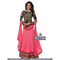 Glamorous Embroidered Semi-stitched Party wear Suitat just Rs.2350/- on www.vendorvilla.com. Cash on Delivery, Easy Returns, Lowest Price.
