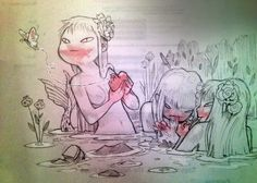 Chiara Bautista #Mermaid #Mermaids #Art