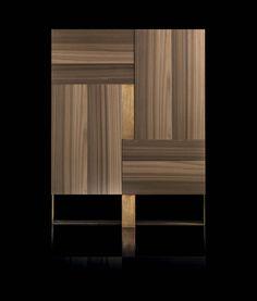 Henge -Side-L - Henge - furniture home design Sideboard Furniture, Sideboard Cabinet, New Furniture, Wooden Furniture, Furniture Design, Madeira Natural, Walnut Cabinets, Flush Doors, Recycled Furniture