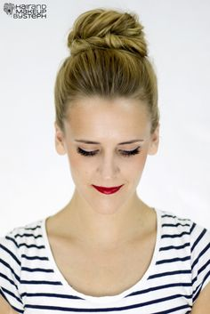 Hair and Make-up by Steph: How To: Fishtail Bun